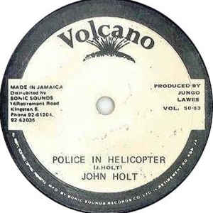 John Holt - Police In Helicopter - Album Cover