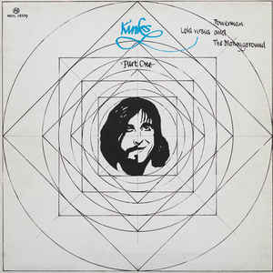 The Kinks - Lola Versus Powerman And The Moneygoround, Part One - Album Cover