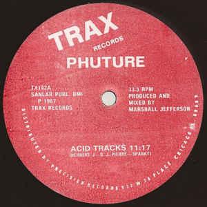 Phuture - Acid Tracks - Album Cover