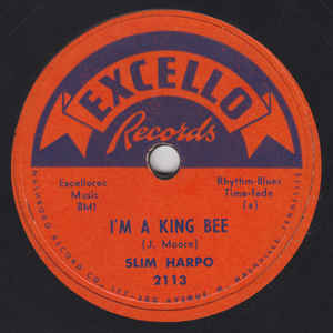 Slim Harpo - I'm A King Bee / I Got Love If You Want It - Album Cover