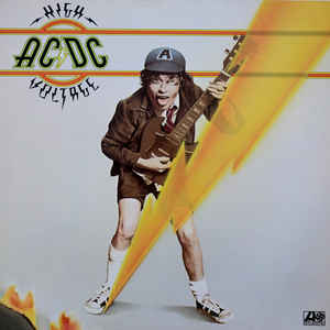 AC/DC - High Voltage - VinylWorld