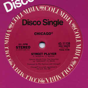 Chicago (2) - Street Player - Album Cover