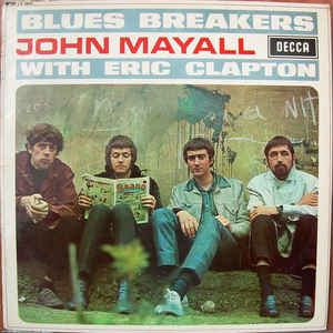 John Mayall - Blues Breakers - Album Cover
