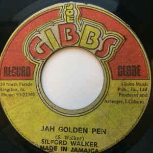 Sylford Walker - Jah Golden Pen / Golden Dub - Album Cover