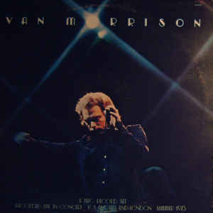 Van Morrison - It's Too Late To Stop Now - Album Cover