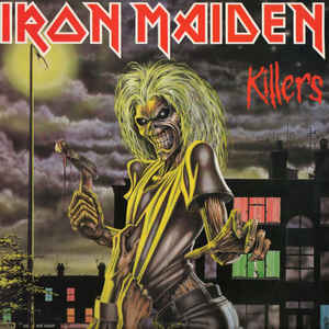 Iron Maiden - Killers - Album Cover