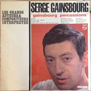Gainsbourg Percussions - Album Cover - VinylWorld