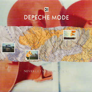 Depeche Mode - Never Let Me Down Again - Album Cover