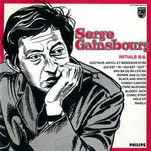 Serge Gainsbourg - Initials B.B. - Album Cover