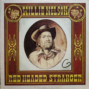 Willie Nelson - Red Headed Stranger - Album Cover