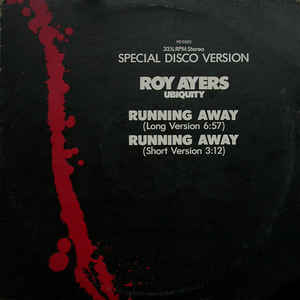 Roy Ayers Ubiquity - Running Away - Album Cover