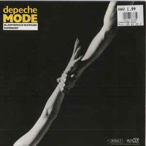 Depeche Mode - Blasphemous Rumours / Somebody - Album Cover