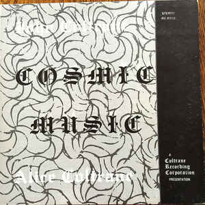 John Coltrane - Cosmic Music - Album Cover