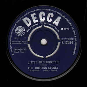 The Rolling Stones - Little Red Rooster - Album Cover