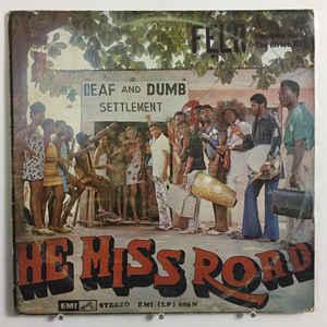 Fela Kuti - He Miss Road - Album Cover
