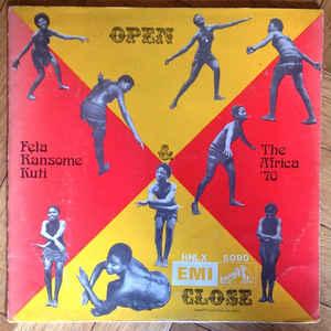 Fela Kuti - Open & Close - Album Cover