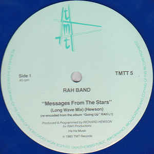 RAH Band - Messages From The Stars - Album Cover