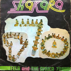 Fela Kuti - Shakara - Album Cover