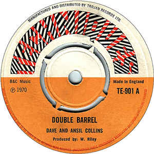 Dave & Ansel Collins - Double Barrel - Album Cover