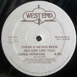 Kenix Music - There's Never Been (No One Like You) - Album Cover
