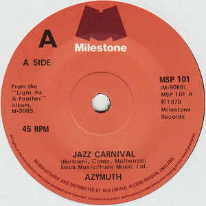 Azymuth - Jazz Carnival - Album Cover