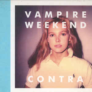 Vampire Weekend - Contra - Album Cover