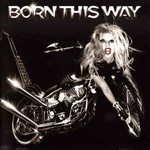 Lady Gaga - Born This Way - Album Cover