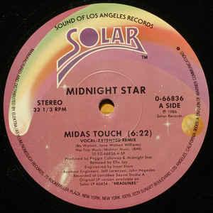 Midas Touch - Album Cover - VinylWorld