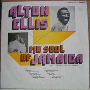 Alton Ellis - Mr Soul Of Jamaica - Album Cover