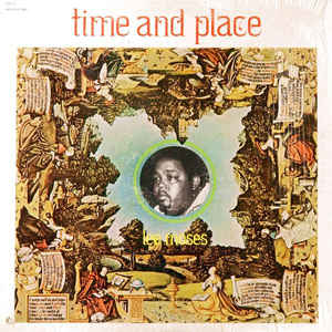 Lee Moses - Time And Place - Album Cover