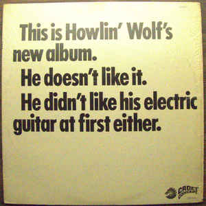 The Howlin' Wolf Album - Album Cover - VinylWorld