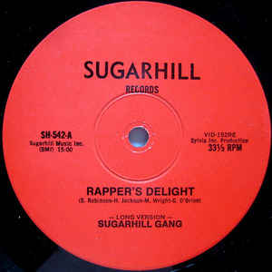 Sugarhill Gang - Rapper's Delight - Album Cover
