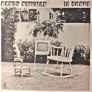 Randy Newman - 12 Songs - Album Cover