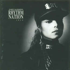 Janet Jackson - Rhythm Nation 1814 - Album Cover