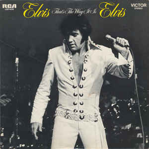 Elvis Presley - That's The Way It Is - Album Cover