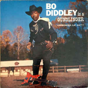 Bo Diddley - Bo Diddley Is A Gunslinger - Album Cover