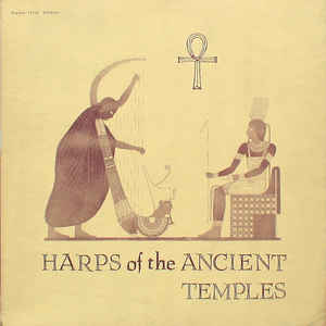 Gail Laughton - Harps Of The Ancient Temples - Album Cover