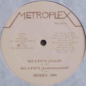 Model 500 - No UFO's - Album Cover