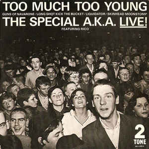 The Specials - Too Much Too Young - Album Cover