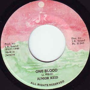 Junior Reid - One Blood - Album Cover