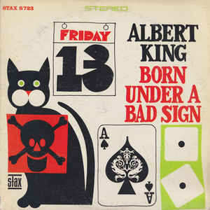 Albert King - Born Under A Bad Sign - Album Cover