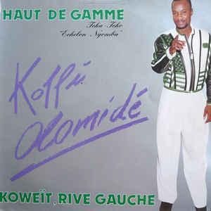 "Koffi Olomide - Haut De Gamme Tcha-Tcho ""Echelon Ngomba"" - Koweït, Rive Gauche - Album Cover"
