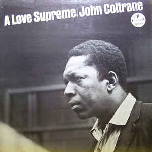 John Coltrane - A Love Supreme - Album Cover