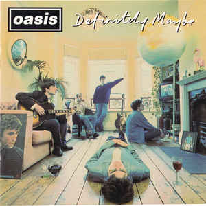 Definitely Maybe - Album Cover - VinylWorld