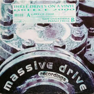 Three Drives - Greece 2000 - Album Cover