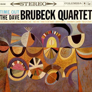 The Dave Brubeck Quartet - Time Out - Album Cover