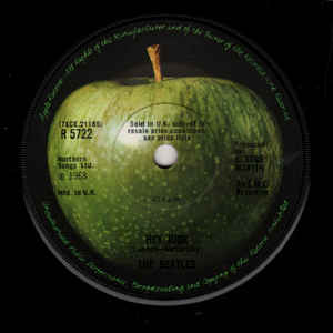 The Beatles - Hey Jude / Revolution - Album Cover