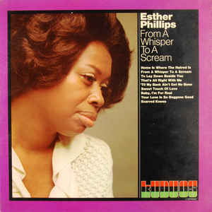 Esther Phillips - From A Whisper To A Scream - Album Cover