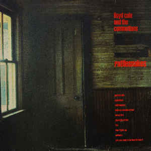 Lloyd Cole & The Commotions - Rattlesnakes - Album Cover