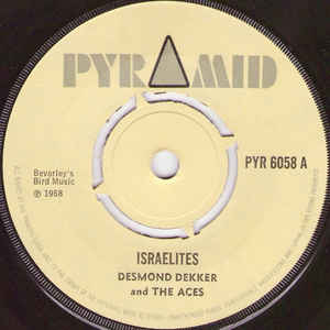 Desmond Dekker & The Aces - Israelites - Album Cover